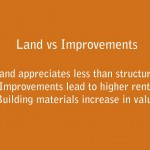 Land and Improvement: Speculation Versus Investment