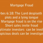 Mortgage Fraud: Wicked Plots