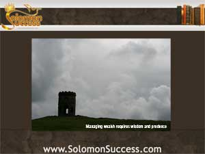 Solomon success logo and photo