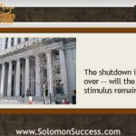 The Shutdown's Over: Now What Happens to the Stimulus?