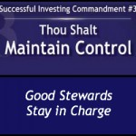 Successful Investors Maintain Control