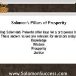 Solomon's Path to Prosperity is For Investors Too