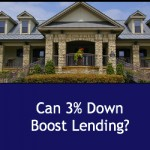 can 3% down boost lending?