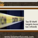 Tax Season Means Tax ID Theft