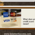 Your Credit Score: Investing Gold