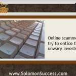When Sinners Entice Thee:  Online Investing Scams