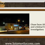 New Fraud  Charges Coming for Chase Bank?