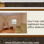 Make the Home Office Deduction Work For You
