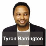 "Tyron Barrington is author of ""The Lord is My Agent...And, He ONLY Takes 10%"""