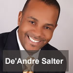 De'Andre Salter, author of 7 Wealth Building Secrets, Your Guide to Money and Meaning